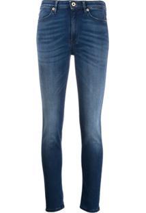 Dondup Calça Jeans Skinny Iris Cintura Alta - Azul