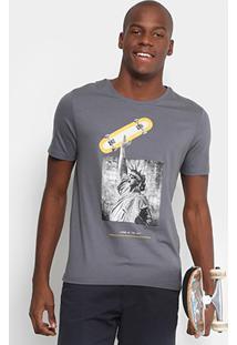Camiseta Mood Living In The City Masculina - Masculino