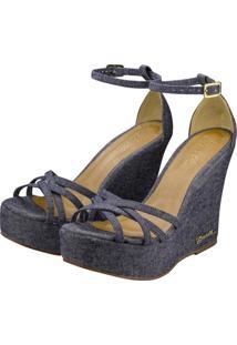 Sandália Barth Shoes Estrela Azul Jeans