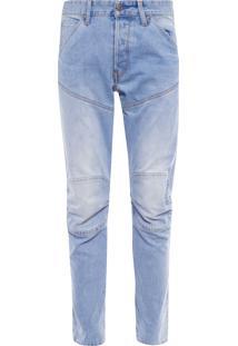 Calça Masculina 3D Tapered - Azul