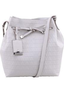 Bolsa Saco Texturizada- Off Whiteschutz