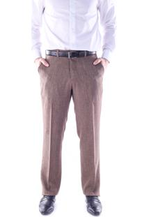 Calça 5535 Social Kaki Traymon Modelagem Regular