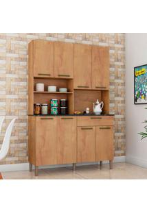 Cozinha Compacta Tannat Gold 8 Pt 1 Gv Castanho