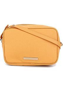 Bolsa Clucth Loucos & Santos Floter Soft-Lclf01094 - Feminino-Amarelo
