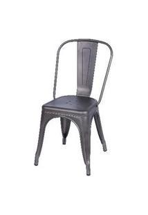 Cadeira Titan De Aço Com Pintura Epoxi Bronze Or Design