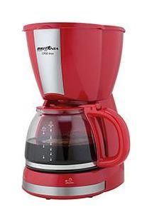Cafeteira Elétrica Britânia Cp30 Inox 1L Vermelha