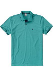 Camisa Polo Slim Piquê Listrado Malwee
