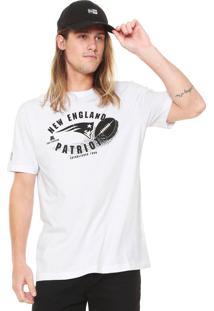 Camiseta New Era England Patriots Branca