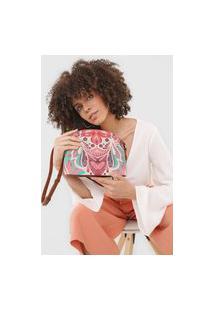 Bolsa Transversal Across Body Bag Multiv Rosa
