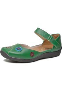 Sapatilha Miuzzi Boneca Ref: 2606 Verde - Tricae