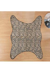 Tapete Dourados Enxovais Formato Cacador Leopardo