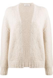 Dorothee Schumacher Knitted Open-Front Cardigan - Neutro