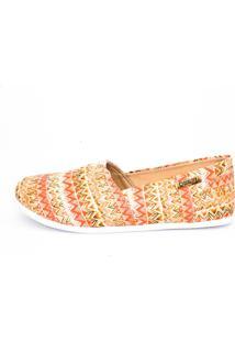 Alpargata Quality Shoes 001 Étnico Laranja - Tricae