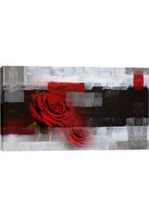 Quadro Rosas Vermelhas 55X100Cm