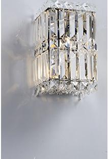 Arandela Cristal Trento 14Cmx23Cm 1Xg9