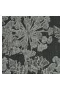 Papel De Parede Italiano Naturae 304-44 Vinílico Com Estampa Contendo Folhagem, Floral, Aspecto Têxtil