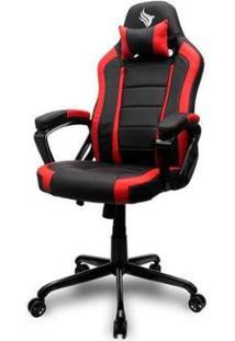Cadeira Gamer Pichau Mooke Vermelho, By-8214-Red - Unissex-Vermelho