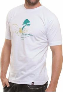 Camiseta Básica Oitavo Ato Cantareira Maior Floresta Do Mundo - Masculino-Branco