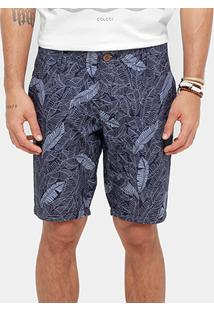 Bermuda Colcci Full Print Masculina - Masculino