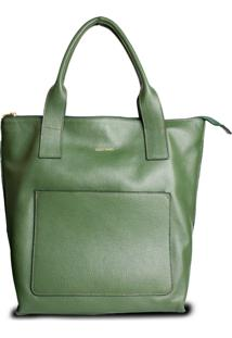 Bolsa Costtano Shopping Bag Musgo - Kanui