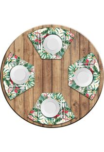 Jogo Americano Love Decor Para Mesa Red