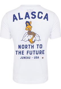 Camiseta Masculina Alasca - Branco