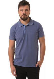 Camisa Polo Osmoze Basica - Masculino-Azul