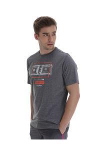 Camiseta Fatal Estampada 22113 - Masculina - Cinza Escuro