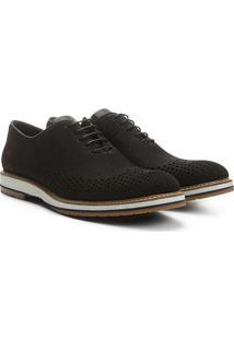 Sapato Casual Couro Reserva Gab Nobuck Masculino - Masculino