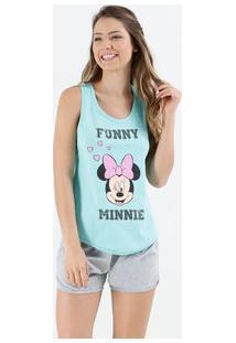 Pijama Short Doll Feminino Minnie Disney