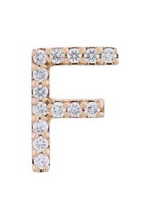 Alinka Brinco Único Com Diamantes 'Id' - Metálico