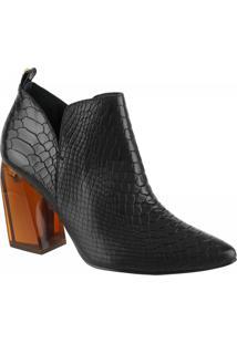 Bota Ankle Boot 80701 - Mamba Preto