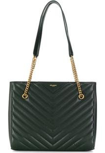 Saint Laurent Bolsa Tote 'Tribeca' - Cinza