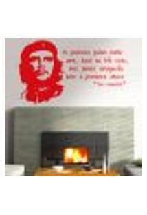 Adesivo De Parede Frase Che Guevara 2 - Médio