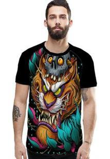 Camiseta Stompy Raglan Modelo 04 Masculina - Masculino