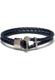 Pulseira Key Design Karma - Azul