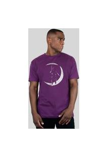Camiseta 182Life The Poet Roxo