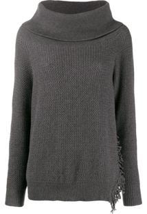 Stella Mccartney Suéter Oversized - Cinza