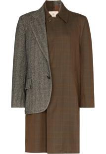 Rentrayage Trench Coat Dr. Watson Com Patchwork - Estampado