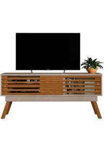 Rack Bancada Para Tv Até 65 Polegadas Frizz 1.5 Fendi/Naturale - Madet