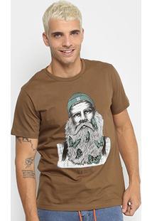 Camiseta New Skate Butterfly Beard Masculina - Masculino