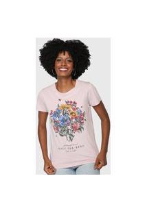 Camiseta Lez A Lez Save The Bees Rosa