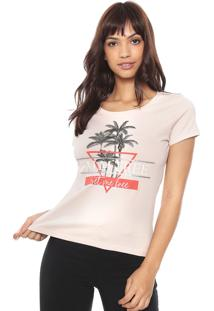 Camiseta Hering Tropical Nude