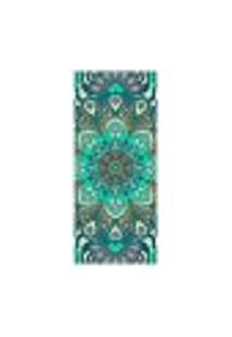 Adesivo Decorativo De Porta - Mandala - 2356Cnpt