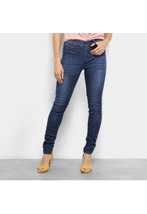 0ba832899 ... Calça Jeans Skinny Cantão Comfort Cintura Média Feminina - Feminino