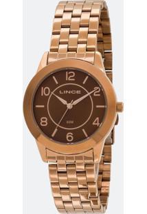 Relógio Feminino Lince Lrb4467L-N2Nx Analógico 5 Atm