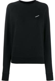 Coperni Suéter Com Estampa De Logo - Preto