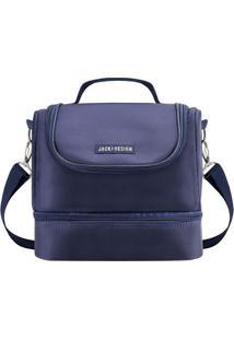 Bolsa Térmica- Azul Marinho- 21X23X15Cm- Jacki Djacki Design