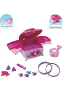 Porta Joias Princesas Mágicas Chave Mágica Zp00203 Zoop Toys