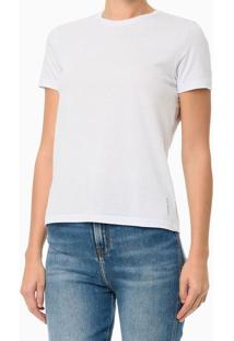 Blusa Feminina Essentials Branca Calvin Klein Jeans - Pp